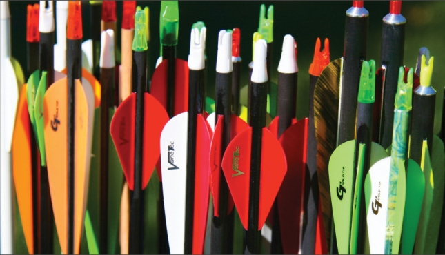 On Target: How to Make Your Own Arrows