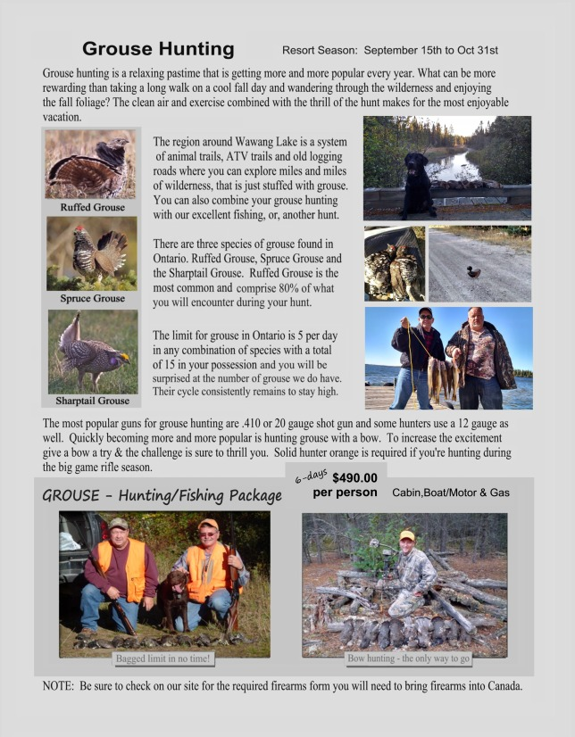 pg 4 grouse
