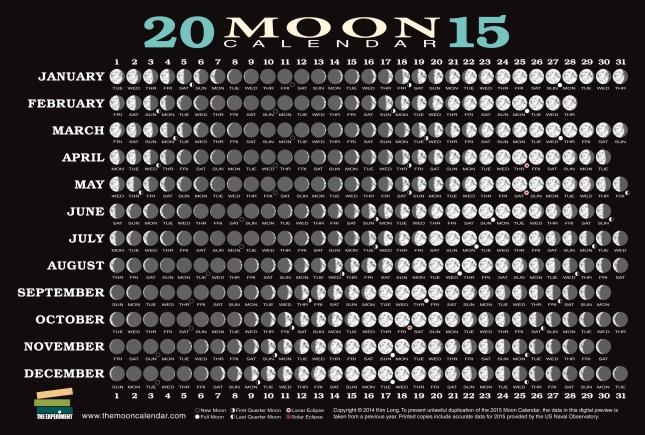 2015 lunar calendar