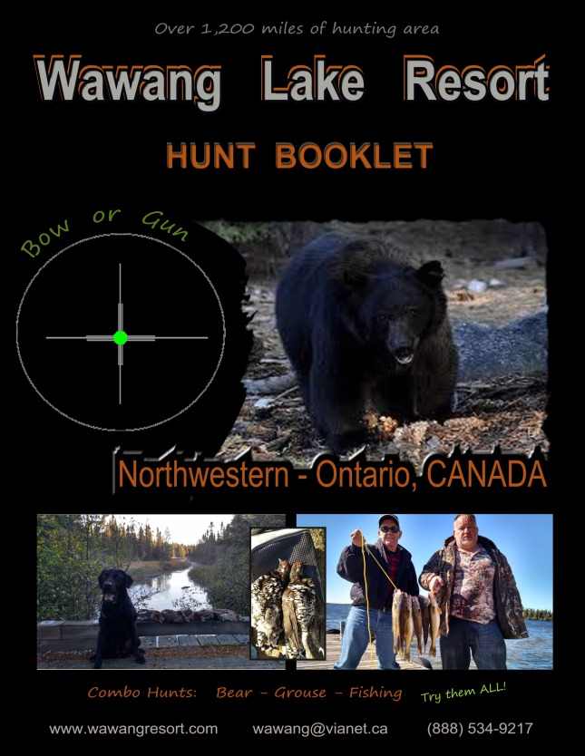 Hunt Booklet Cover
